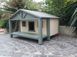 B3 Beach with porch cathouse