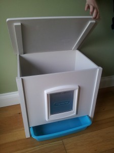 INDOOR LITTER TRAY CABINET