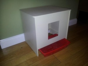 Basic Indoor cat Litter Cabinet