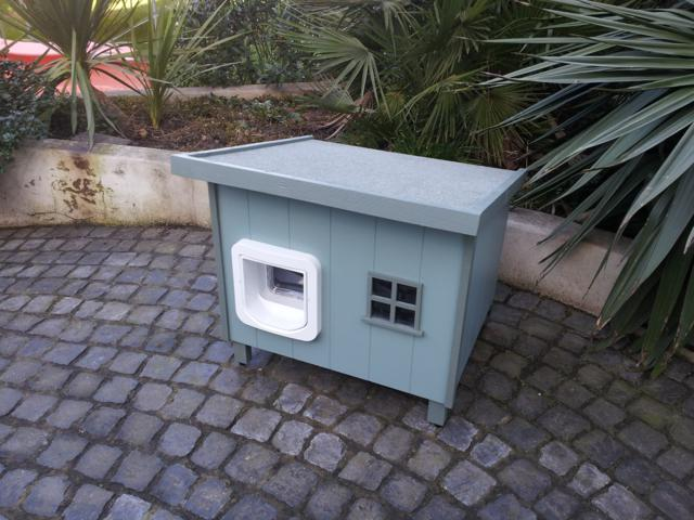 Indoor And Outdoor Cat Litter Cabinets And Litter Tray Solutions Luxury Pet